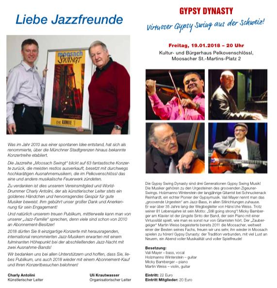 Martin Weiss Konzert Moosbach