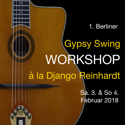 Gypsy Workshop Martin Weiss